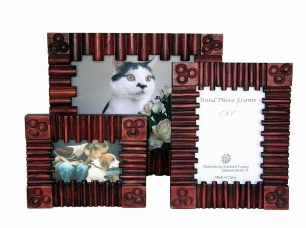 Sunshine Trading ST-21-10 Handmade Wood Photo Frame - 8 x 10 Inch at Sears.com