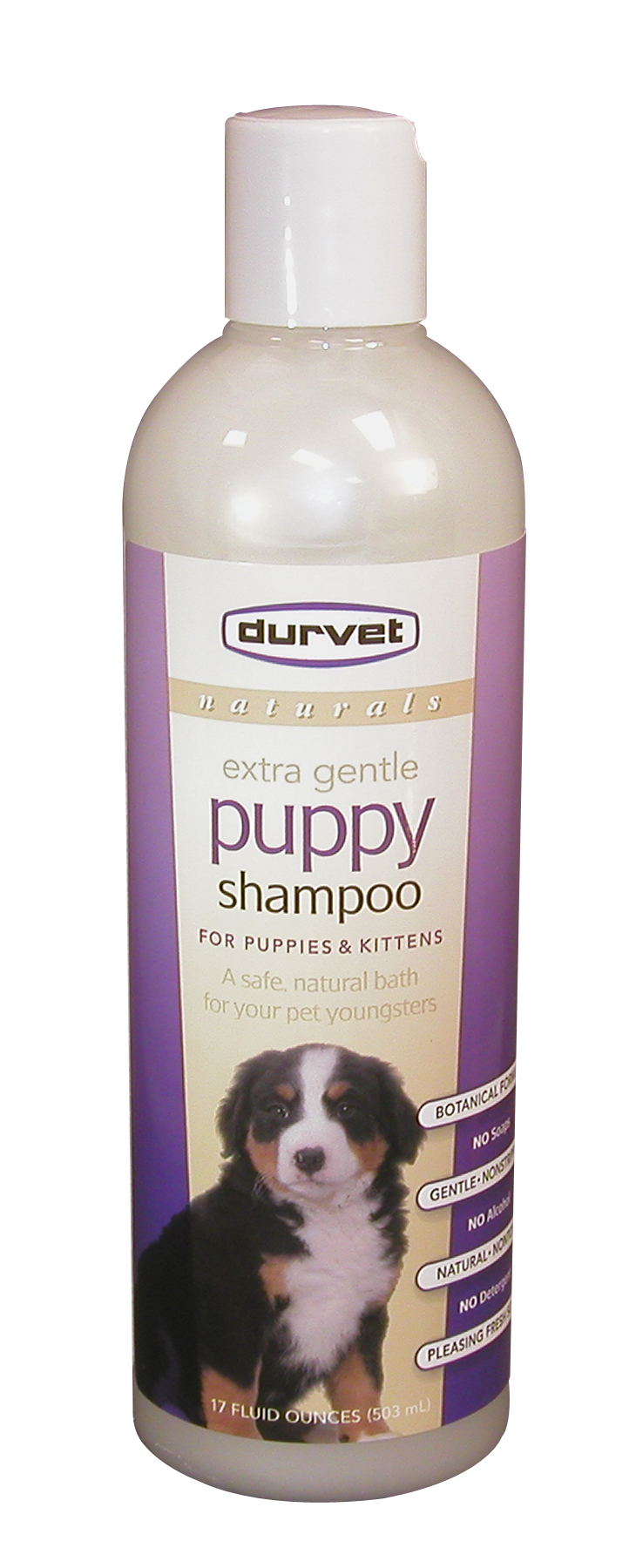Durvet 011-51100 Naturals Puppy Shampoo - 17oz