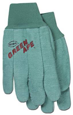 Boss 313J Green Ape Chore Glove - Green - Jumbo Pack Of 6