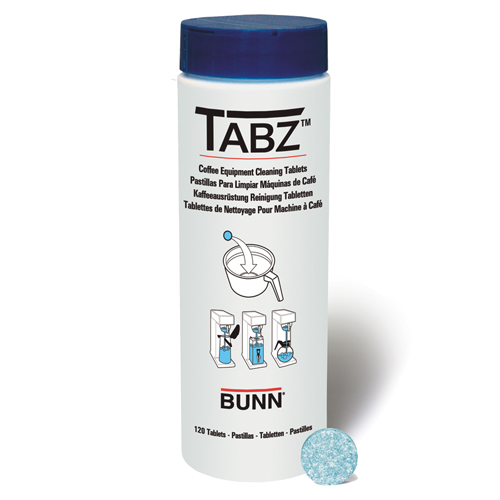 Bunn 39637.0001 Tabz Coffee Brewer Cleaning Tablets - Case of 12 Containers