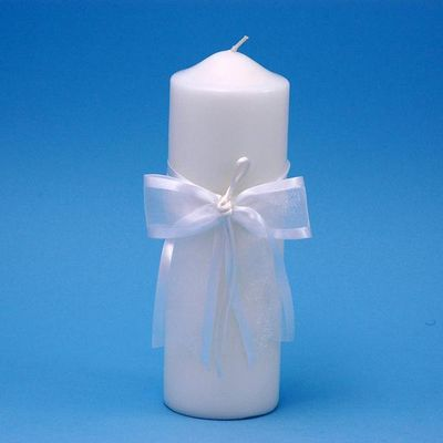 Beverly Clark A01115PC/WHT Simplicity Pillar Candle - White BVCK298