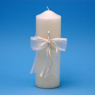 Beverly Clark A01115PC/IVO Simplicity Pillar Candle - Ivory BVCK299