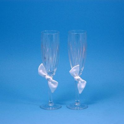 Beverly Clark 92L Love Knot Flutes - White