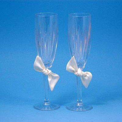 Beverly Clark 92LI Love Knot Flutes - Ivory