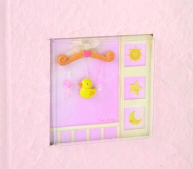 Beverly Clark 203BG 100 Photo Baby Album - Pink