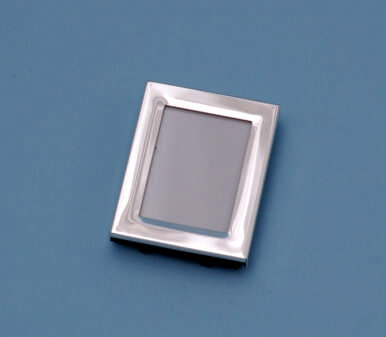 Beverly Clark 60A Petite Simply Silver Frame - 2 x 1.5 Inch