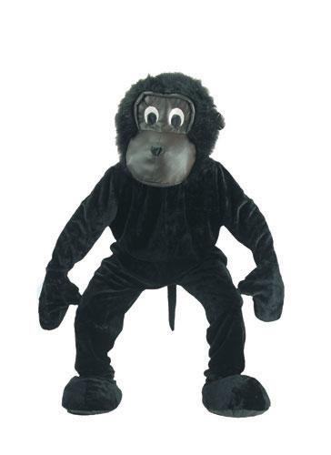 Dress Up America 302-Adult Scary Gorilla Mascot Costume Set - One Size Fits Most