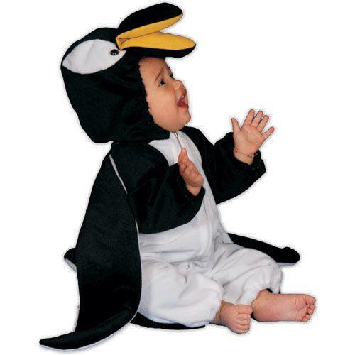 Dress Up America 317-2 Penguin Plush Costume - Size Toddler T2