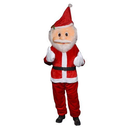 Dress Up America 360-Adult Santa Mascot Costume - One Size Fits Most