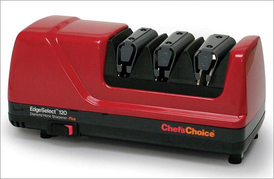 Chefs Choice 0120002 Diamond Hone EdgeSelect Plus Knife Sharpener in Red
