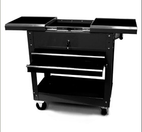 Homak BK06022704 27 Inch Professional Tool Cart with 2 Drawers