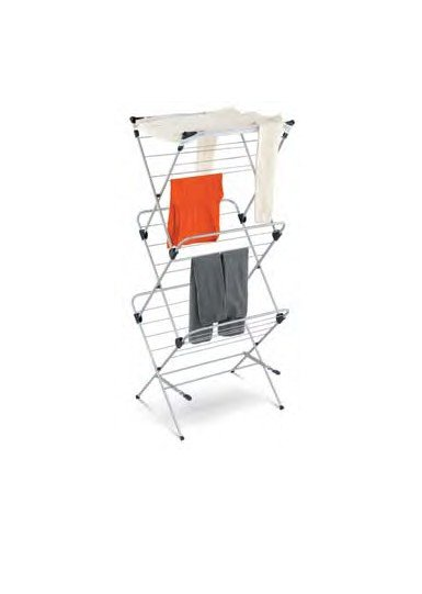 Honey-Can-Do DRY-01105 3-Tier Mesh Top Drying Rack