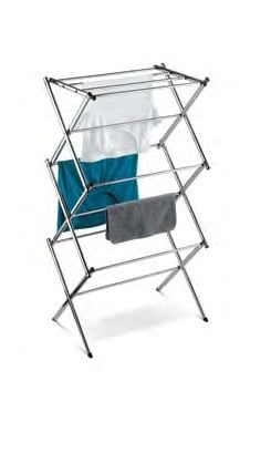 DRY-01234 Commercial Chrome Accordion Drying Rack