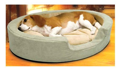 K&H 1923 Thermo Snuggly Sleeper Large - Sage - 31 x 24 Inch