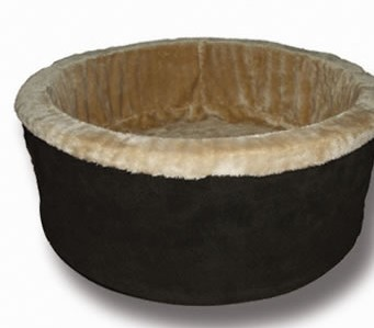 K and H 3191 Thermo-Kitty Bed 16 Inch Diameter - Mocha