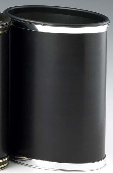 Kraftware 67574 Sophisticates Black with Polished Chrome