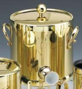 Kraftware Shiny Brass 3 Quart Ice Bucket