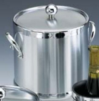 Kraftware Brushed Chrome 3 Quart Ice Bucket
