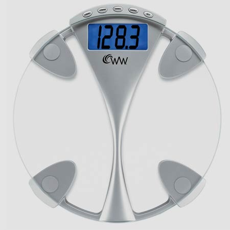 Weight Watchers WW43D Memory Glass Electronic Scale