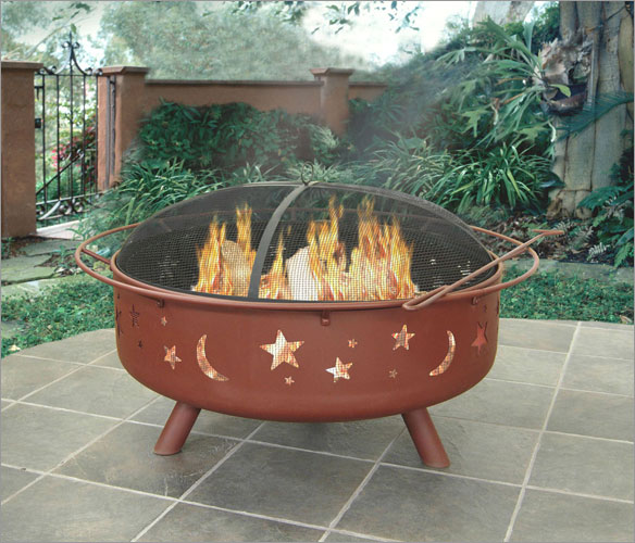 Landmann 28905 Super Sky Star and Moons Fire Pit