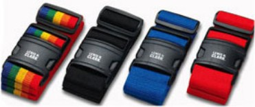 Lewis N Clark 60BLU Quick-Release Luggage Belt - Blue