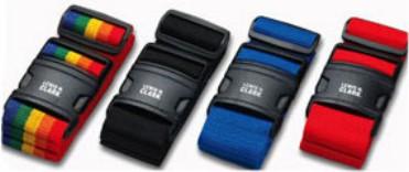 Quick-Release Luggage Belt - Rainbow