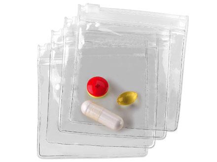 Lewis N Clark 700R Pill Organizer Pouches  4 Pack