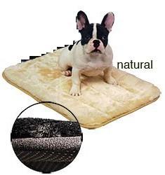 Precision Pet 2406-SNZ5000NTL SnooZZy Sleeper 5000 - 43 x 28 Inch - Natural