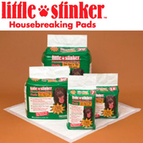 Precision Pet 6000-66050 Little Stinker Housebreaking Pads 24 x 24 Inch - 50-pack
