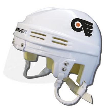 Official NHL Licensed Mini Player Helmets - Philadelphia Flyers - White