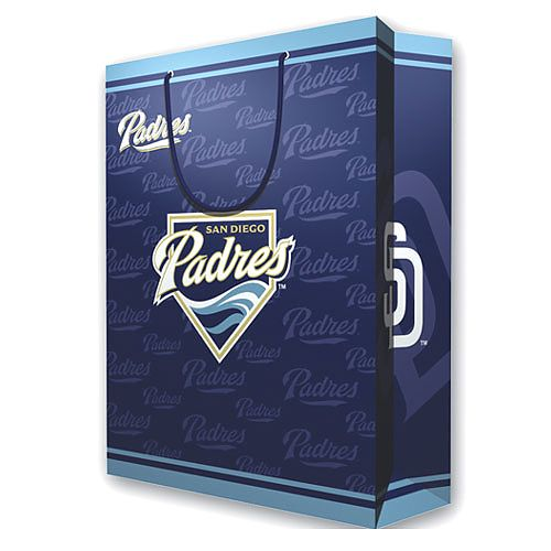 2 MLB Large Gift Bag - San Diego Padres