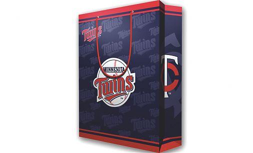 2 MLB Large Gift Bag - Minnesota Twins