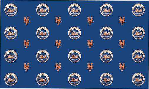 2 Packages of MLB Gift Wrap - New York Mets