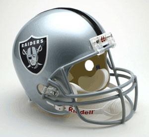 NFL Full Size Deluxe Replica Helmet - Raiders