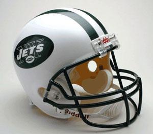 NFL Full Size Deluxe Replica Helmet - Jets