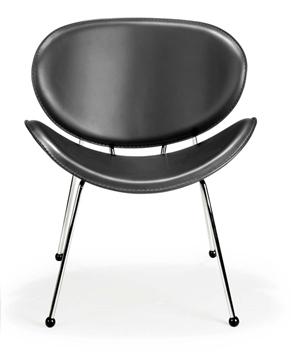 Zuo 100101 Mat Chair Black - Set of 2