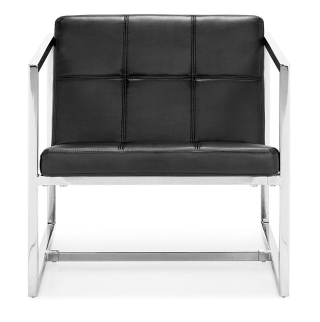Zuo 500073 Carbon Collection Chair - Black