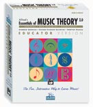 Alfred Publishing 0020821 Essentials of Music Theory: Software Version 2.0 CDROM Educator Version Volumes 2 3