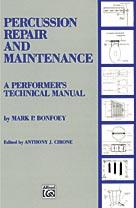 Alfred Publishing 00-EL03285 Percussion Repair and Maintenance