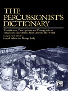 Alfred Publishing 00-SB01040 The Percussionist s Dictionary