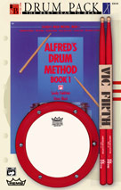 Alfred Publishing 0018431 Drum Method Book 1