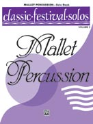 Alfred Publishing 00-EL03897 Classic Festival Solos  - Mallet Percussion