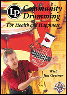 Alfred Publishing 30-LPV115D Community Drumming for Health and Happiness