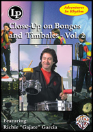 Alfred Publishing 30-LPV130D Adventures in Rhythm  Vol. 2: Close-Up on Bongos and Timbales