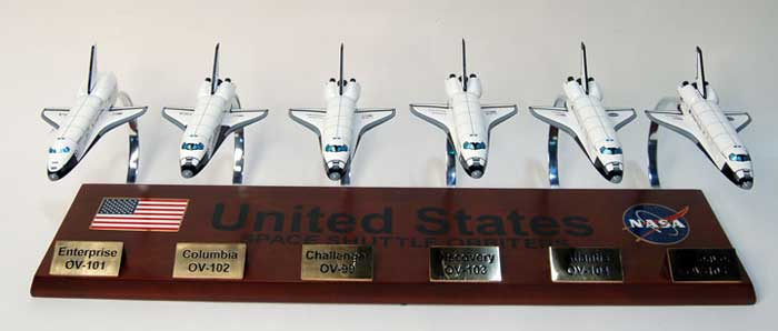 Space Shuttle Orbitor Collection Model