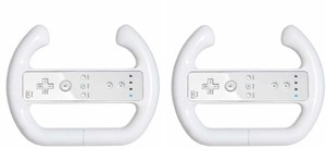 Image of 2 PAK Steering Wheel for Nintendo Wii