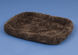 Precision Pet 2661-75566 SnooZZy Crate Bed 6000 - 51 x 33 Inch - Chocolate Cozy