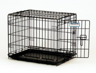 Precision Pet 1125-11242 Black ProValu Crate 2000 - 24 x 18 x 19 Inch
