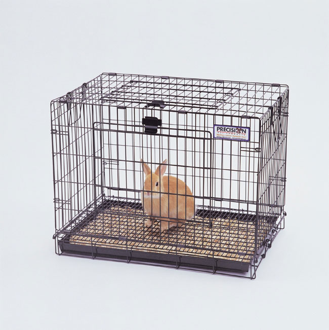 Cheap pet supplies online Precision Pet 1910-3 Rabbit Resort - Large - 37 x 18 x 21 Inch