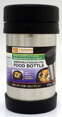 Range Kleen 17FBSS 17 oz. Stainless Steel Food Bottle